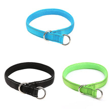 Load image into Gallery viewer, Three Colors Nylon Pet Collor Pet Traction Rope Dog Lead Leash for Racing Shaped Adjustable Hraness for Pet Management