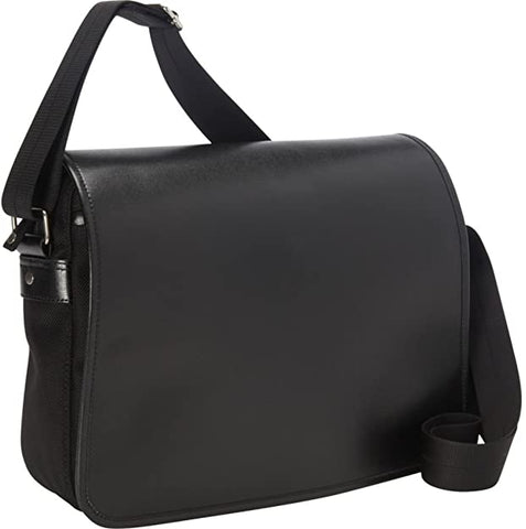 Royce Leather Men's Kensington Messenger Bag