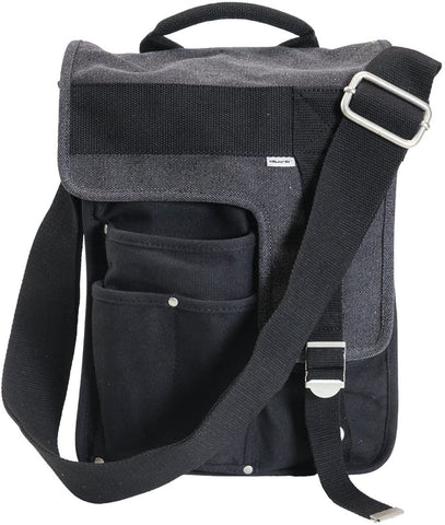 Ducti Messenger Bags - Durable, Stylish Bags for Life (Black Deployment)…