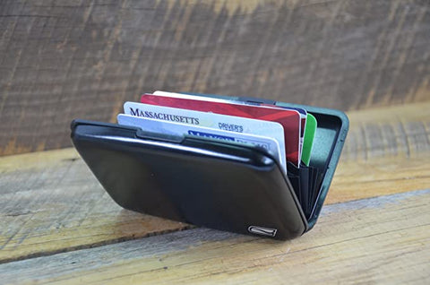 Ducti RFID Blocking Aluminum Credit Card Case  (3 Pack) $60 Value