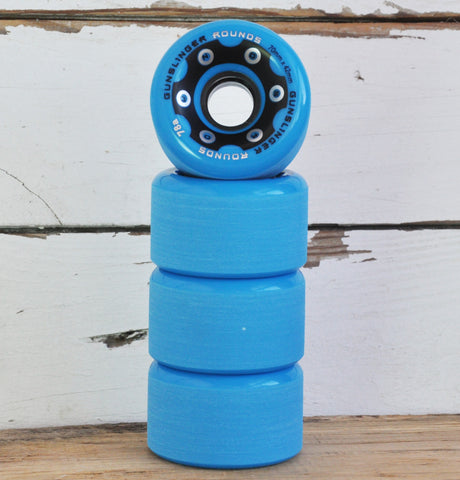 Gunslinger Rounds Longboard Wheels