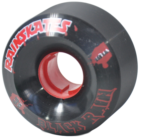 Rainskates Black Rain 101a Longboard Skateboard Wheels