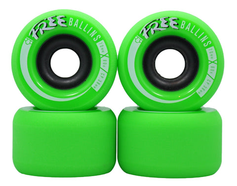 Free Wheel Co. Ballins Longboard Wheels