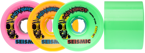 Seismic Hot Spot Defcon 76mm Longboard Wheels