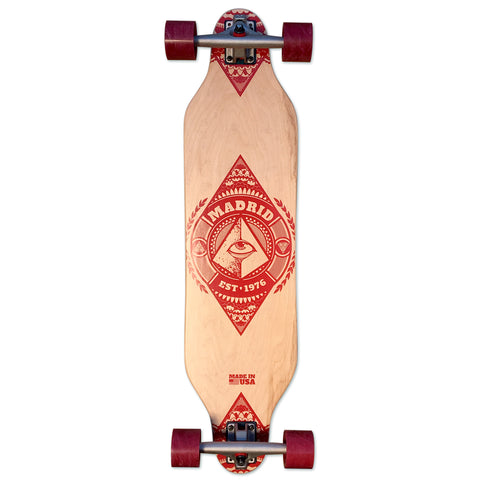 "Madrid Skateboards ""Illumignarly"" Top Mount Complete, 36"" x 9"""