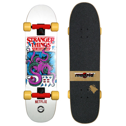 Stranger Things Arcade Complete by Madrid Skateboards