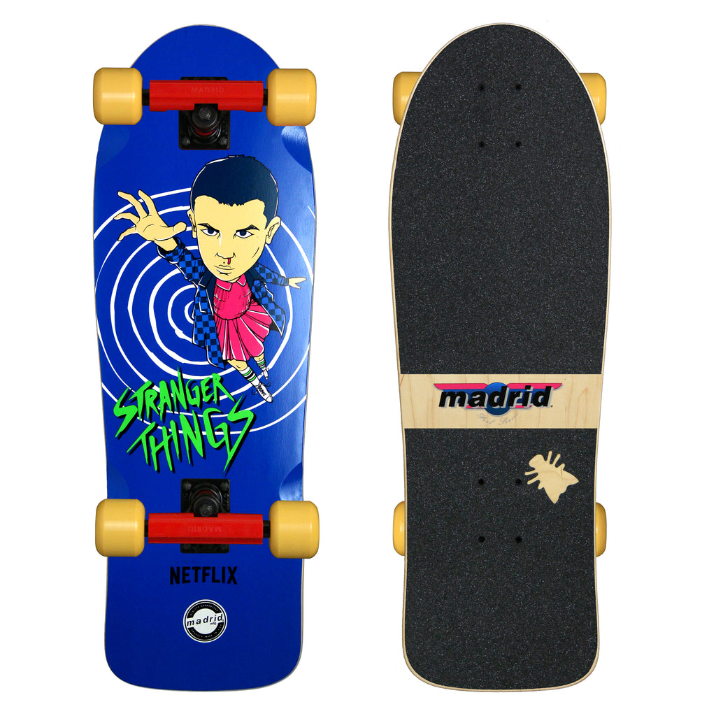 Stranger Things Eleven Complete by Madrid Skateboards