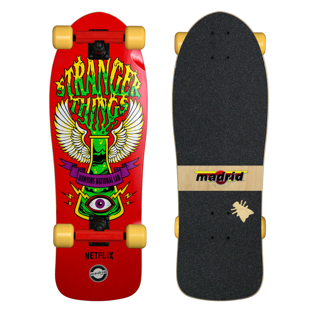 Stranger Things Hawkins Lab Complete by Madrid Skateboards