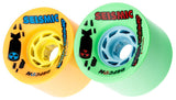 Seismic Speed Vent Defcon 73mm Longboard Wheels