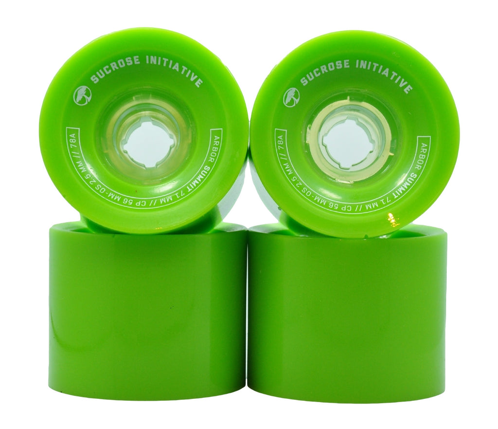 Arbor Sucrose Initiative Summit Longboard Wheels