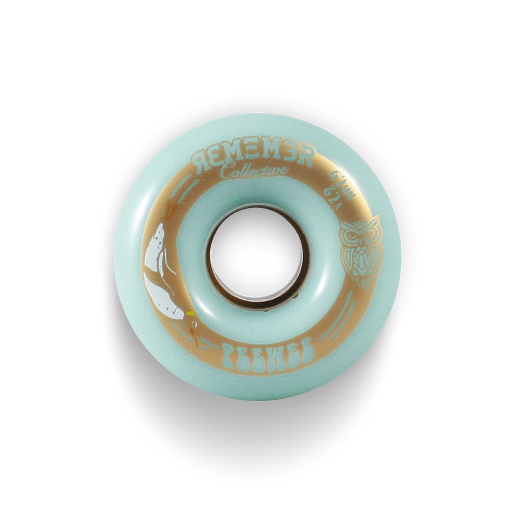 *New* Remember Collective Peewee Longboard Wheels