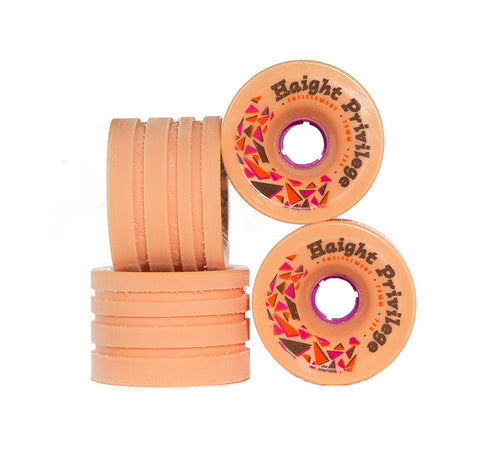 Entitlement Urethane Haight Privilege (Rain Groove) Longboard Wheels