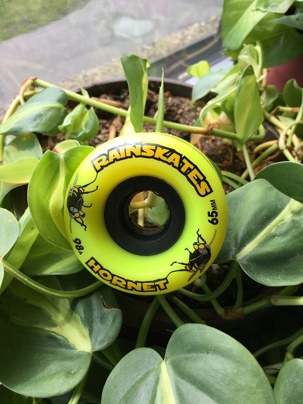 RainSkates Hornet 65mm Double Conical Longboard Wheel