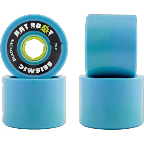 Seismic Hot Spot Black Ops 76mm Longboard Wheels
