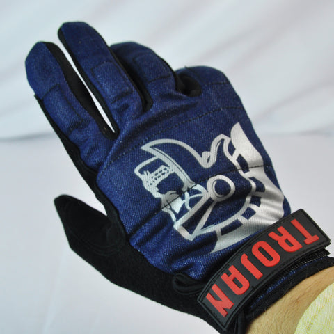 Trojan Denim Disaster Longboard Slide Gloves