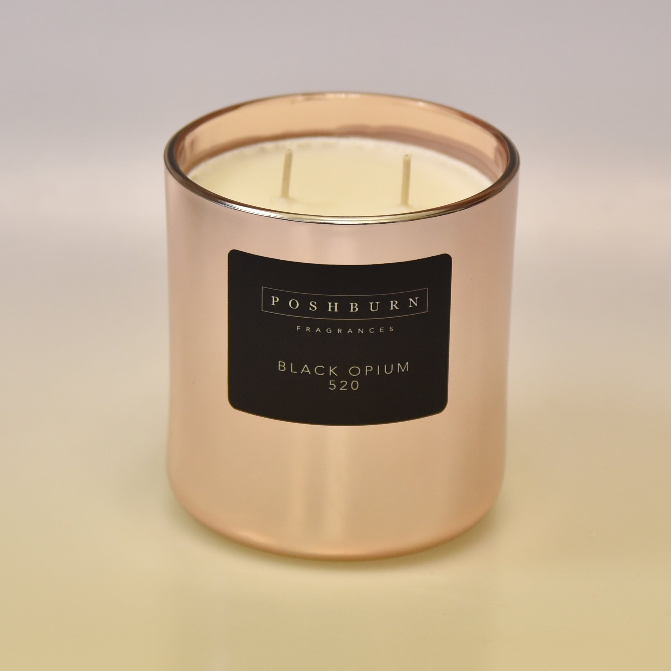 Rose Gold ( Large Two Wick Soy Candle )