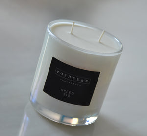 White Vogue (Large Two Wick Soy Candle)