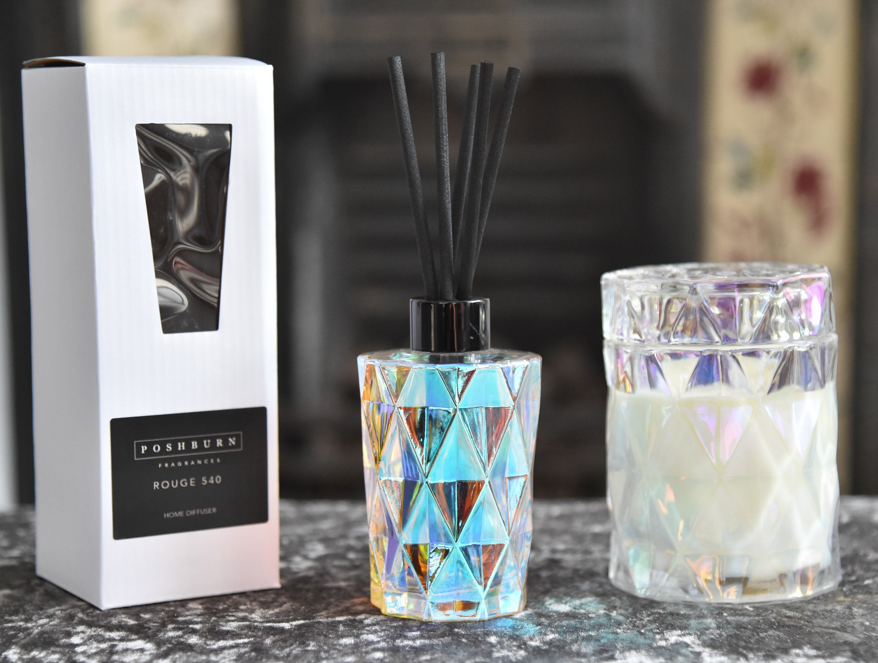 Diamond Home Diffuser & Soy Candle