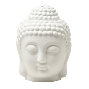 White Buddha Head Burner
