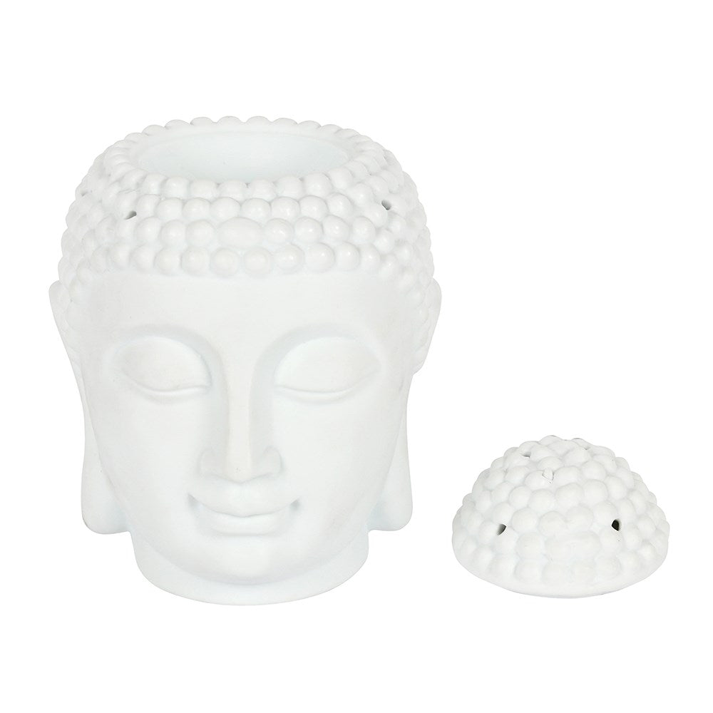 XXL White Buddha Head Burner