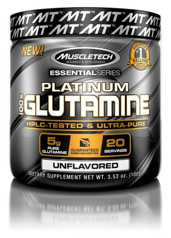 MUSCLETECH - PLATINUM GLUTAMINE