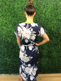 Camille Dress in Navy
