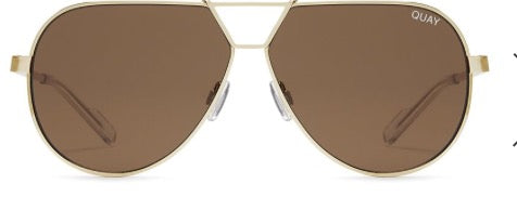 QUAY SUNNIES- Supernova- Gold/Brown