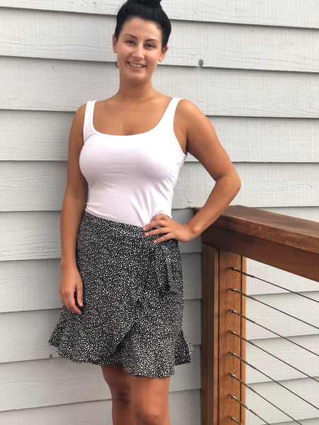 Harlow wrap Skirt
