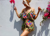 Jungle bells playsuit