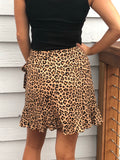 Wild child wrap skirt