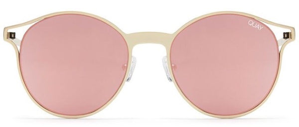 QUAY SUNNIES- Here We Are- Gold/Rose