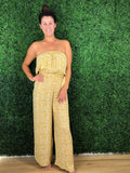 Seaside Daisy Jump Suit