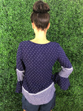 Midnight Blues top - Navy