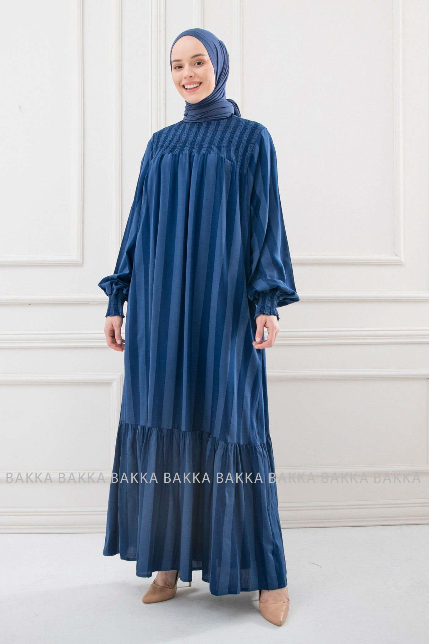 DRESS - ELB02- Blue