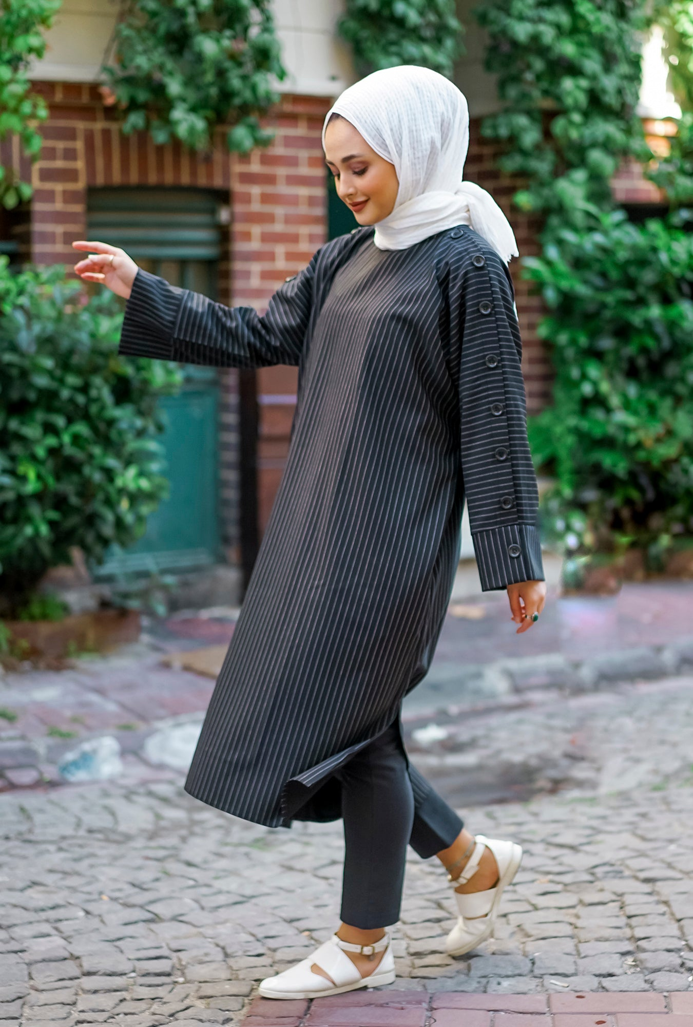 Tunic Farasheh Black