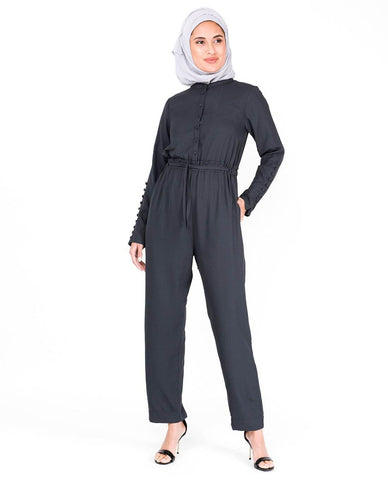 Jumpsuit 0002B Dark Grey