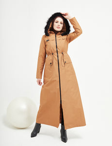 Trench Coat - 4487- CAMEL