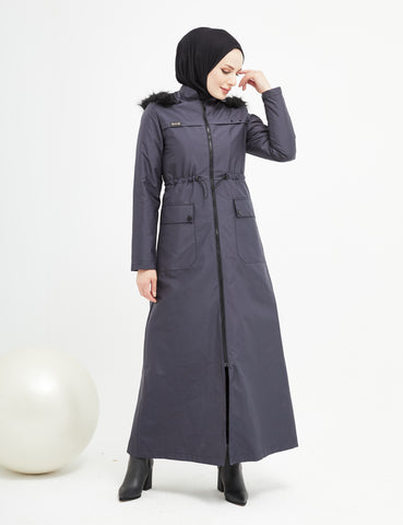 Trench Coat - 4487 - NAVY