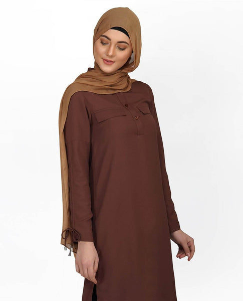 TUNIC-C0069 -BROWN