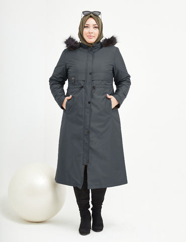 Trench Coat -  7463 - NAVY