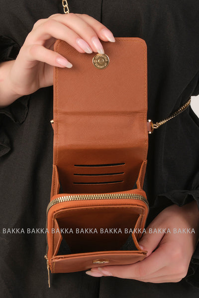 Mobile bag - 3600 - Brown