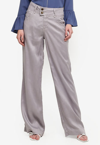 TROUSERS-GRAY