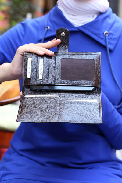 464 - Leather wallet
