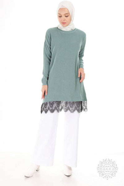 Blouse - 6147- GREEN