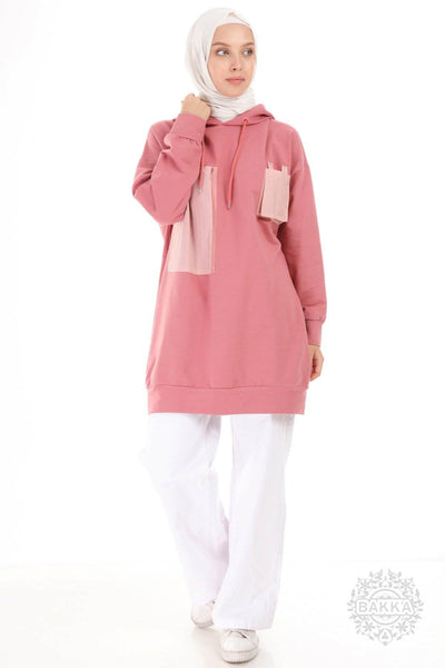 BLOUSE   -  6523- PINK