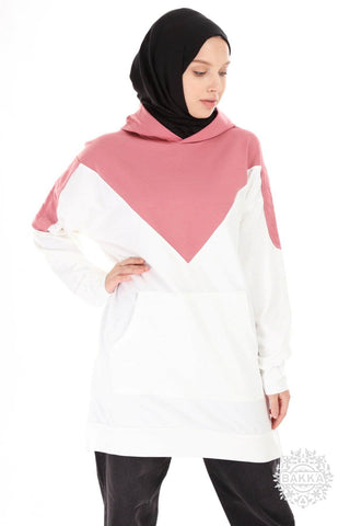 BLOUSE   -  6538- PINK
