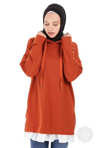 BLOUSE   -  6542   -  ORANGE