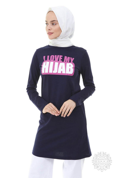 Blouse - I LOVE MY HIJAB - 9081