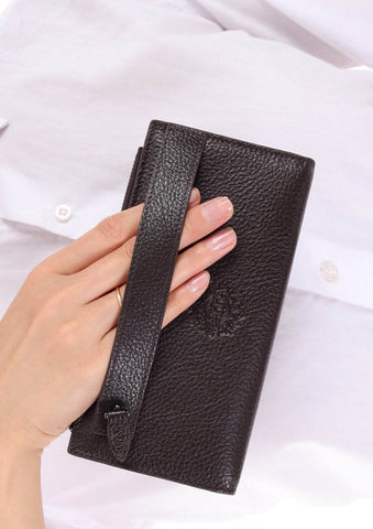 3760 - Leather wallet - Dark Brown