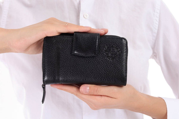 471 - Leather wallet -  Black